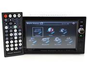 """New Power Acoustik Pd-650B 6.5"""" Double Din Receiver Lcd Dvd Am/Fm Bluetooth"""