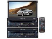 Legacy - 7'' Motorized Detachable Touch Screen TFT/LCD Monitor With DVD/CD/MP3/AM/FM Player