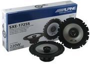"New Pair Alpine Sxe1725s 6.5"" 220W 2 Way Car Audio Speakers 220 Watt"