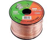 New Pyramid Rsw12100 12-Gauge Speaker Wire 100 Foot Spool High Quality