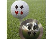 The Tin Cup Personal Imprinting System / golf ball marker - Vegas Nights 9SIV16A6789390