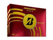 Bridgestone 2014 Tour B330 RX Golf Balls - Yellow