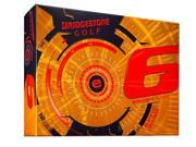 Bridgestone e6 Golf Balls (Pack of 12) - Orange - New for 2015