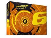 Bridgestone e6 Golf Balls (Pack of 12) - Yellow - New for 2015