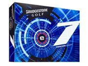 Bridgestone e7 Golf Balls (Pack of 12) - White - New for 2015