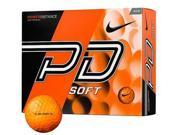 Nike Power Distance Soft Golf Balls 12 Pack Orange