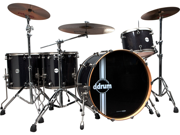 Ddrum Reflex Bombardier 5-Piece Drum Set Shell Pack - Galaxy Sparkle
