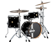 Ddrum Paladin Maple Speakeasy 4-Piece Drum Set Shell Pack - Piano Black