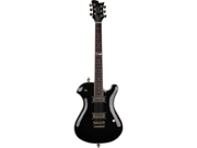 Sozo Z Series Z8 Single Cut Electric Guitar with Case - Classic Black