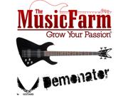 Dean Demonator Metalman M2A Active Bass Guitar