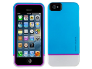 Body Glove Icon Hybrid Cover Case Cover for Apple iPhone 5 Teal Silver Pink