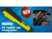 E-Z RED PCUV6 Mini True UV LED Pocket Work Light