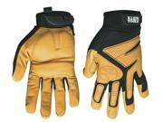 KLEIN 40222 Journeyman Utility Leather Glove - Extra Large