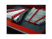 Ernst Mfg 5015 RD + 5115 RD GRIPPER 12 Wrench Organizer Set - YES 1 Each