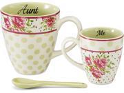 Aunt and Me 3 Piece Mug Set