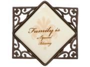 """Simply Stated Kitchen Fridge Magnet """"Family is a Special Blessing"""""""