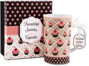 Friend 12 oz. Cupcake Print Mug
