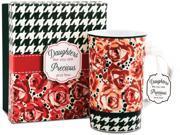 Daughter 12 oz. Floral Print Mug 9SIA16T3VV7551