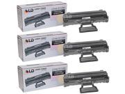 LD © 3 Compatible Black Laser Toners Samsung MLT-D108S for use in ML-1640 or ML-2240 Printers