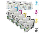 LD Remanufactured Replacement for Epson T079 Set of 5 High Yield Ink Cartridges: 2 T079120 Black, 1 T079220 Cyan, 1 T079320 Magenta, 1 T079420 Yellow for the Artisan 1430 & Stylus Photo 1400 Printers