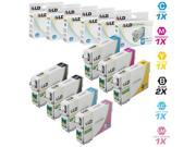 LD Remanufactured Replacement for Epson T079 Set of 7 High Yield Ink Cartridges: 2 T079120, 1 T079220, 1 T079320, 1 T079420, 1 T079520, 1 T079620 for the Artisan 1430, and Stylus Photo 1400 Printers