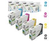 LD Remanufactured Replacement for Epson T079 Set of 4 High Yield Ink Cartridges: 1 T079120 Black, 1 T079220 Cyan, 1 T079320 Magenta, 1 T079420 Yellow for the Artisan 1430 & Stylus Photo 1400 Printers