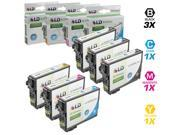 LD Epson Remanufactured T200XL / T200 Set of 6 High Yield Ink Cartridges: Includes 3 Black T200XL120, 1 Cyan T200XL220, 1 Magenta T200XL320, & 1 Yellow T200XL420