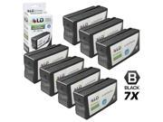 LD © Remanufactured Replacement for Hewlett Packard HP 950XL / 950 Ink Cartridges Set of 7 Black CN045AN for use in OfficeJet Pro 251dw, 276w MFP, 8100, 8600, 8600 Plus & 8600 Premium Printers Cartridge Quantity: 7 Compatible Products: OfficeJet Pro 8100 OfficeJet Pro 8600 HP 950XL, OfficeJet Pro 215dw OfficeJet Pro 2765dw MFP, 8600 Plus OfficeJet Pro 8600 Premium HP 951XL, CN045AN CN047AN CN046AN CN0458AN