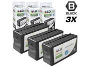 LD © Remanufactured Replacement for Hewlett Packard HP 950XL / 950 Ink Cartridges Set of 3 Black CN045AN for use in OfficeJet Pro 251dw, 276w MFP, 8100, 8600, 8600 Plus & 8600 Premium Printers Cartridge Quantity: 3 Compatible Products: For use in the following printers: OfficeJet Pro 251dw, 276w MFP, 8100, 8600, 8600 Plus & 8600 Premium Printers