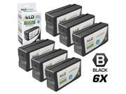 LD © Remanufactured Replacement for Hewlett Packard HP 950XL / 950 Ink Cartridges Set of 6 Black CN045AN for use in OfficeJet Pro 251dw, 276w MFP, 8100, 8600, 8600 Plus & 8600 Premium Printers Cartridge Quantity: 6 Compatible Products: For use in the following printers: OfficeJet Pro 251dw, 276w MFP, 8100, 8600, 8600 Plus & 8600 Premium Printers