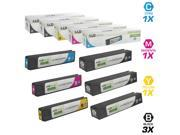 LD Remanufactured Replacements for HP 970XL / 970 / 971XL / 971 6PK HY Ink Cartridges Includes: 3 CN625AM Black, 1 CN626AM Cyan, 1 CN627AM Magenta, & 1 CN628AM