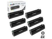 LD © Compatible Replacements for Samsung CLP/CLX/SL Set of 6 Black Laser Toner Cartridges: 6 CLT-K504S Black for use in Samsung CLP-415NW, CLX-4195FN, CLX-4195F
