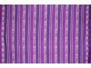 "Om Symbol Heavy Cotton Ribbed Spread 90"" x 60"" Twin Purple"