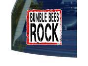Bumble Bees Rock Sticker - 5
