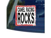 Camel Racing Rocks Sticker - 5