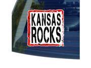 Kansas Rocks Sticker - 5