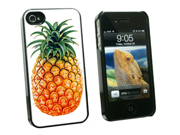 Pineapple - Snap On Hard Protective Case for Apple iPhone 4 4S - Black 9SIA16X0KV0122
