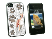 Great Dane of Excellence - Snap On Hard Protective Case for Apple iPhone 4 4S - Black