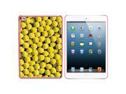 Tennis Balls Snap On Hard Protective Case for Apple iPad Mini Pink