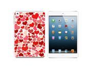 Lots of Hearts - Love Romantic Snap On Hard Protective Case for Apple iPad Mini - White 9SIA16X0UC5238
