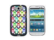 Russian Nesting Dolls On White - Snap On Hard Protective Case for Samsung Galaxy S3 - Black 9SIA16X0UG0768