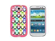Russian Nesting Dolls On White - Snap On Hard Protective Case for Samsung Galaxy S3 - Pink 9SIA16X0UG0603