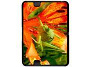 Grasshopper on Red Lily Flower - Snap On Hard Protective Case for Amazon Kindle Fire HD 7in Tablet