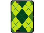 Argyle Hipster Green - Preppy - Snap On Hard Protective Case for Amazon Kindle Fire HD 7in Tablet