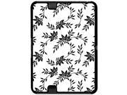 Power of Flowers Black White - Snap On Hard Protective Case for Amazon Kindle Fire HD 7in Tablet