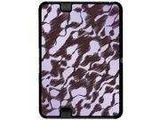 Scribbles Purple Gray - Snap On Hard Protective Case for Amazon Kindle Fire HD 7in Tablet
