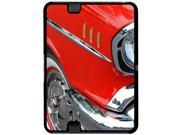 Red and Chrome Vintage Classic Car - Snap On Hard Protective Case for Amazon Kindle Fire HD 7in Tablet