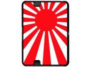 Japan Flag Rising Sun Snap On Hard Protective Case for Amazon Kindle Fire HD 7in Tablet