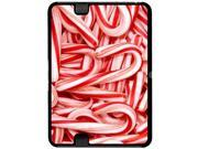 Christmas Candy Canes - Snap On Hard Protective Case for Amazon Kindle Fire HD 7in Tablet