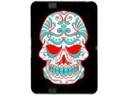 Mexican Day of the Dead Skull - Snap On Hard Protective Case for Amazon Kindle Fire HD 7in Tablet